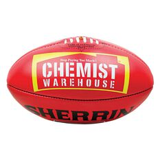Sherrin KB Australian Rules Ball Red 4, , rebel_hi-res