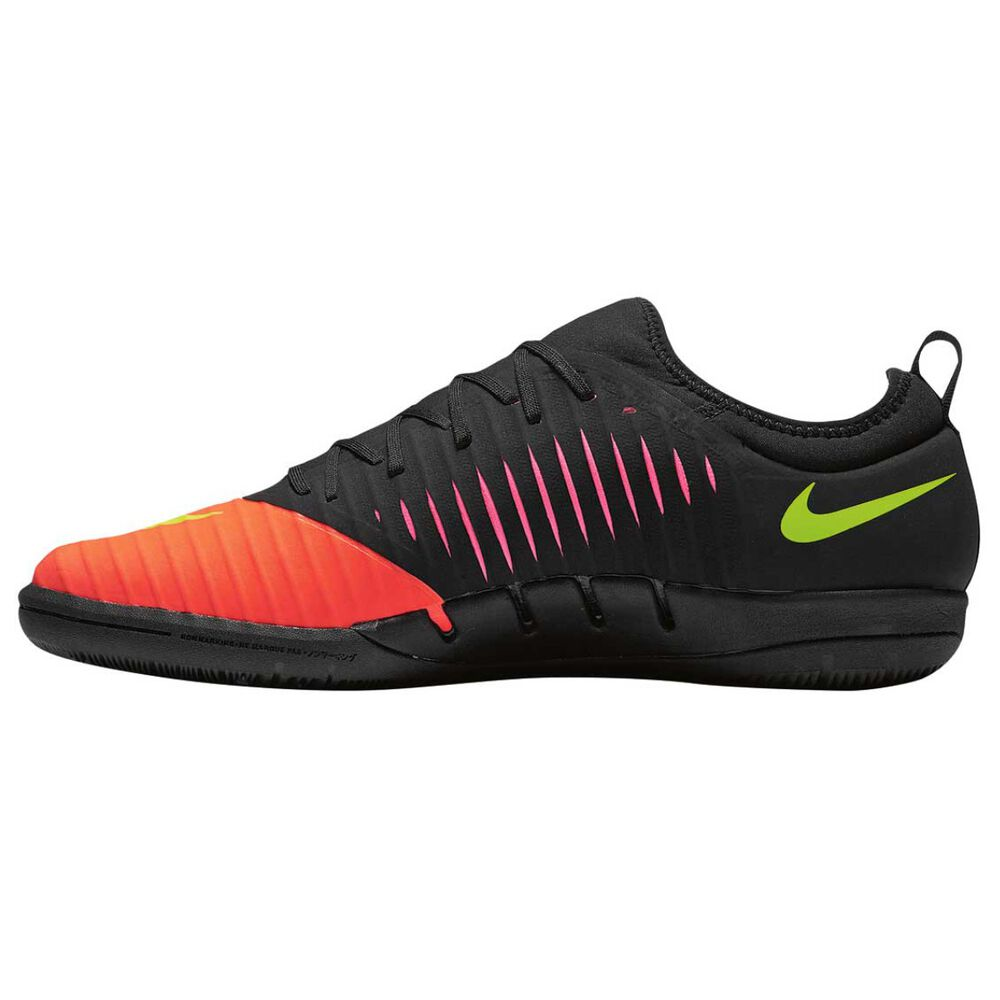 Nike MercurialX Finale II Mens Indoor Soccer Shoes Crimson   Volt US 10  Adult 55bf74a0e9