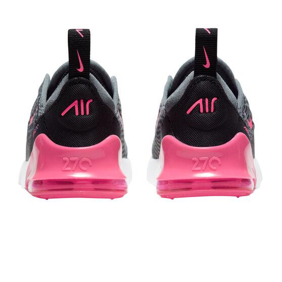 Nike Air Max 270 Kids Casual Shoes, Grey/Pink, rebel_hi-res