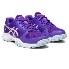 Asics GEL Netburner 20 Girls Netball Shoes, Purple, rebel_hi-res