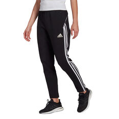 adidas Womens Sportswear Colourblock Pants Black XS, Black, rebel_hi-res