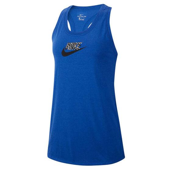Nike Womens Sportswear Tank, Blue, rebel_hi-res