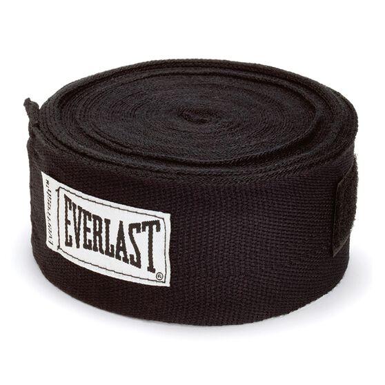 Everlast 180in Hand Wraps Black 180in, Black, rebel_hi-res
