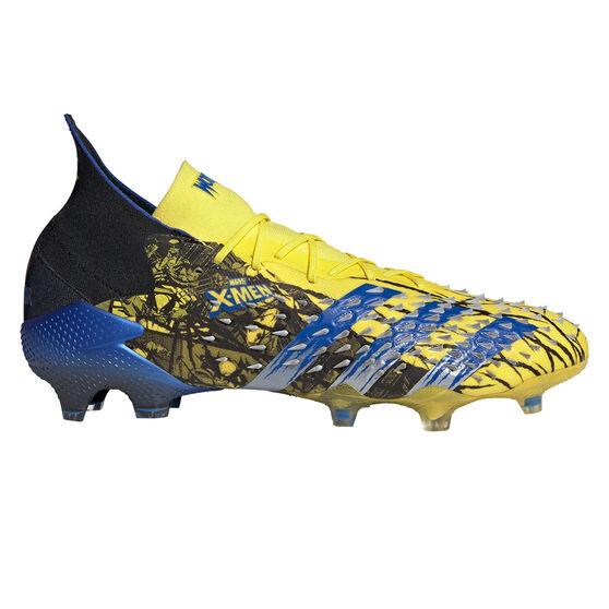adidas x Marvel X-Men Predator Freak .1 Football Boots, Yellow, rebel_hi-res