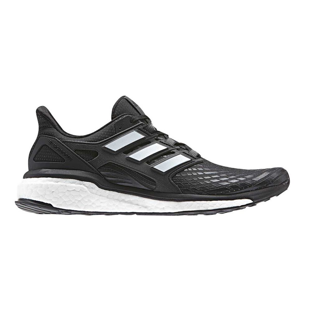 low priced 4ebab 96d55 adidas Energy Boost Mens Running Shoes Black  White US 10, Black  White,