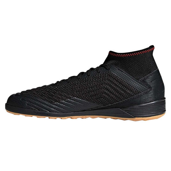 adidas Predator Tango 19.3 Mens Indoor Soccer Shoes, Black / Red, rebel_hi-res