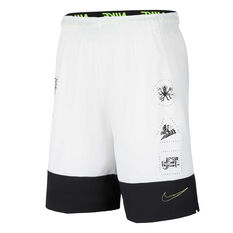 Nike Mens Training Shorts White XS, White, rebel_hi-res