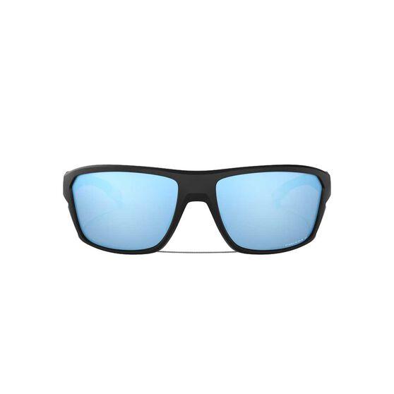 Oakley Split Shot Sunglasses Matte Black / Prizm Deep Water Polarized, Matte Black / Prizm Deep Water Polarized, rebel_hi-res