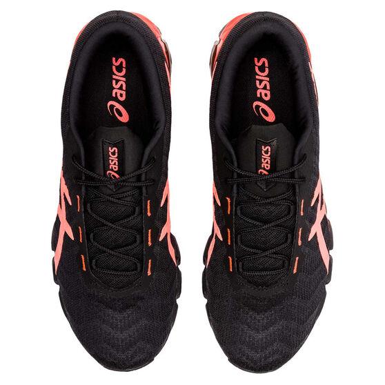 Asics GEL Quantum 180 5 Mens Training Shoes, Black/Red, rebel_hi-res