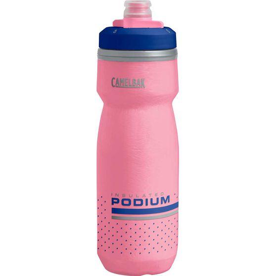 Camelbak Podium Chill 600ml Water Bottle Pink, Pink, rebel_hi-res