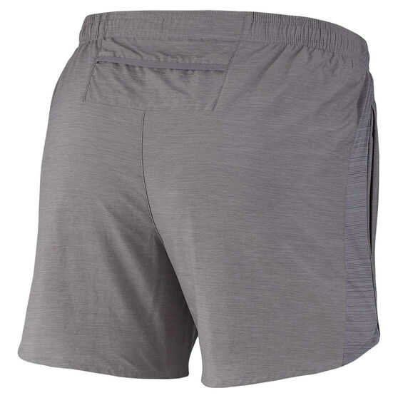 Nike Mens Challenger 5in Brief-Lined Running Shorts Grey S, Grey, rebel_hi-res