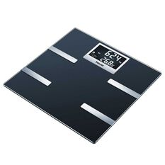 Beurer BT Glass Body Fat Scale Black / Grey, , rebel_hi-res