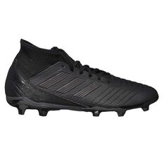 adidas Predator 18.3 Junior Football Boots Black / Orange US 11 Junior, Black / Orange, rebel_hi-res