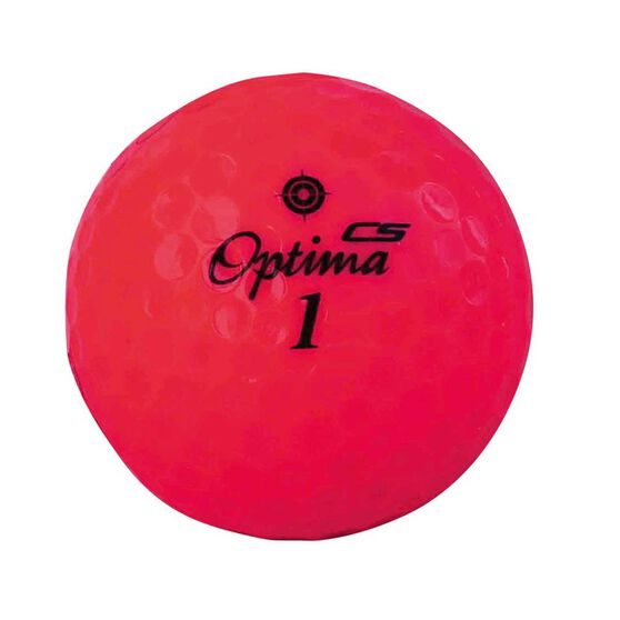 Optima Competition Spin Golf Ball Pink, Pink, rebel_hi-res
