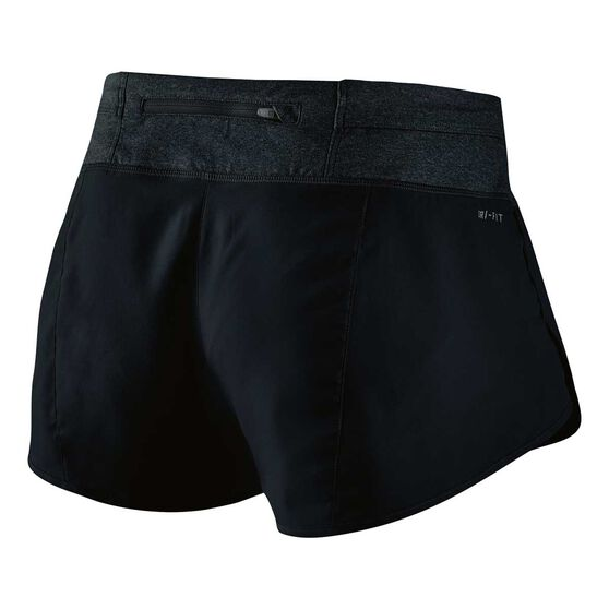 Nike Womens Rival Shorts Black XL Adult, Black, rebel_hi-res