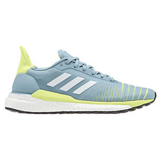 adidas Solar Glide Womens Running Shoes Grey / Yellow US 5, Grey / Yellow, rebel_hi-res
