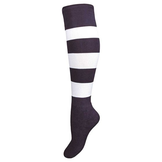 Burley Geelong Cats Kids Football Socks, , rebel_hi-res