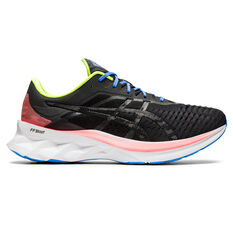 Asics Novablast Mens Running Shoes Black US 8, Black, rebel_hi-res