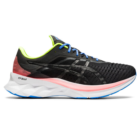 Asics Novablast Mens Running Shoes, Black, rebel_hi-res