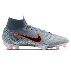 b124ba9e8495 Nike Mercurial Superfly VI Elite Football Boots Grey   Blue US Mens 6    Womens 7.5 ...