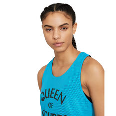 Nike Womens Swoosh Fly Reversible Basketball Jersey, Blue, rebel_hi-res