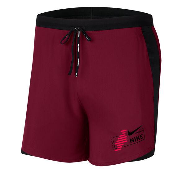 Nike Mens Flex Stride Future Fast 2-in-1 Running Shorts, Purple, rebel_hi-res
