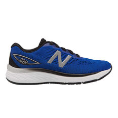 New Balance 880 Kids Training Shoes Blue US 4, Blue, rebel_hi-res