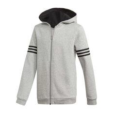 adidas Boys Sport ID Hoodie Grey / Black 8, , rebel_hi-res