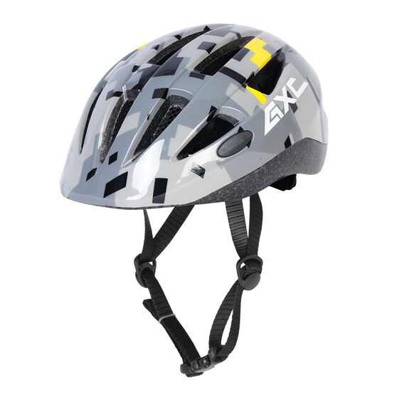 Goldcross Kids Mayhem 3 Bike Helmet, Grey, rebel_hi-res