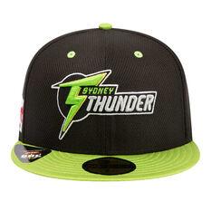 Sydney Thunder New Era 59FIFTY Away Cap Green 7 1 / 4in, Green, rebel_hi-res