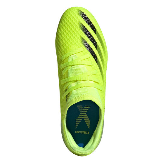 adidas X Ghosted .3 Kids Football Boots, Yellow, rebel_hi-res