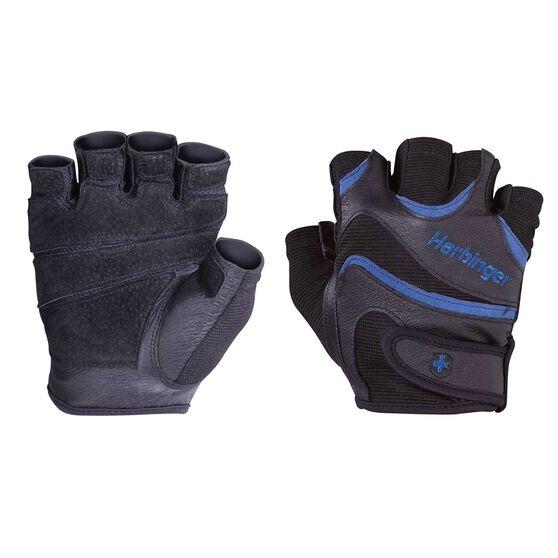 Harbinger Mens Flexfit Training Gloves Black / Red S, S, rebel_hi-res