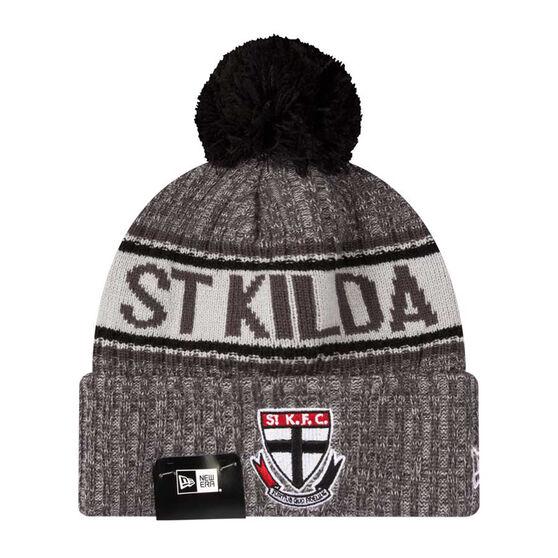 St Kilda Saints New Era 6 Dart Cuff Beanie, , rebel_hi-res