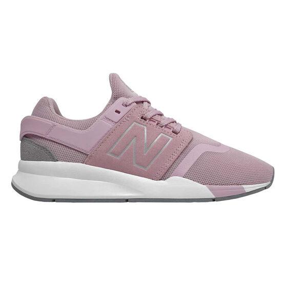 New Balance 247 v2 Kids Casual Shoes, Pink / White, rebel_hi-res