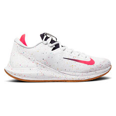 NikeCourt Air Zoom Zero Mens Tennis Shoes White / Red US 7, White / Red, rebel_hi-res