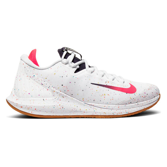 NikeCourt Air Zoom Zero Mens Tennis Shoes, White / Red, rebel_hi-res