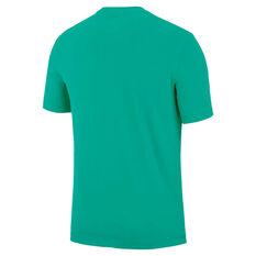 Nike Mens Dri-FIT Training Tee Green S, Green, rebel_hi-res