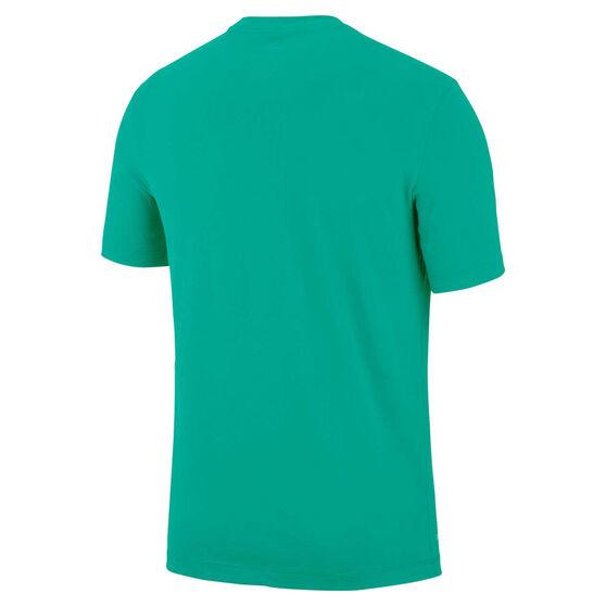 Nike Mens Dri-FIT Training Tee, Green, rebel_hi-res