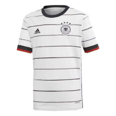 Germany 2020 Kids Home Jersey White 8, White, rebel_hi-res