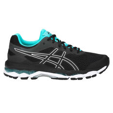52f3582669fd2 Asics Gel Superion Womens Running Shoes Black   Silver US 6