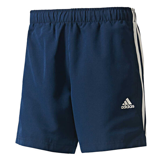 adidas Mens 3-Stripe Chelsea Shorts, Navy / White, rebel_hi-res