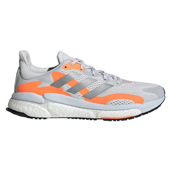 adidas SolarBoost 3 Mens Running Shoes, Grey/Silver, rebel_hi-res