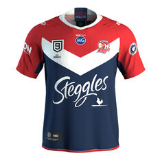 Sydney Roosters Nines 2020 Mens Jersey Navy / Red S, Navy / Red, rebel_hi-res
