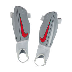 Nike Junior Charge Football Shin Guards White / Red S, White / Red, rebel_hi-res