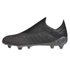 adidas X 19+ Football Boots Black / Grey US Mens 7 / Womens 8, Black / Grey, rebel_hi-res