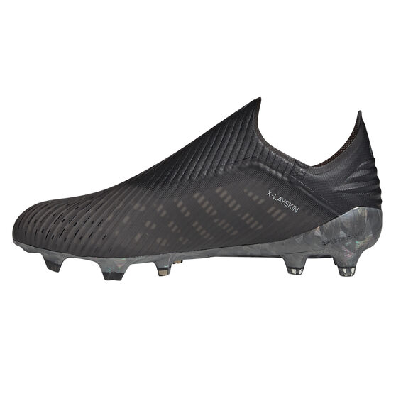 adidas X 19+ Football Boots, Black / Grey, rebel_hi-res