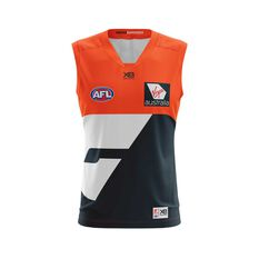 GWS Giants 2018 Mens Replica Home Guernsey, , rebel_hi-res