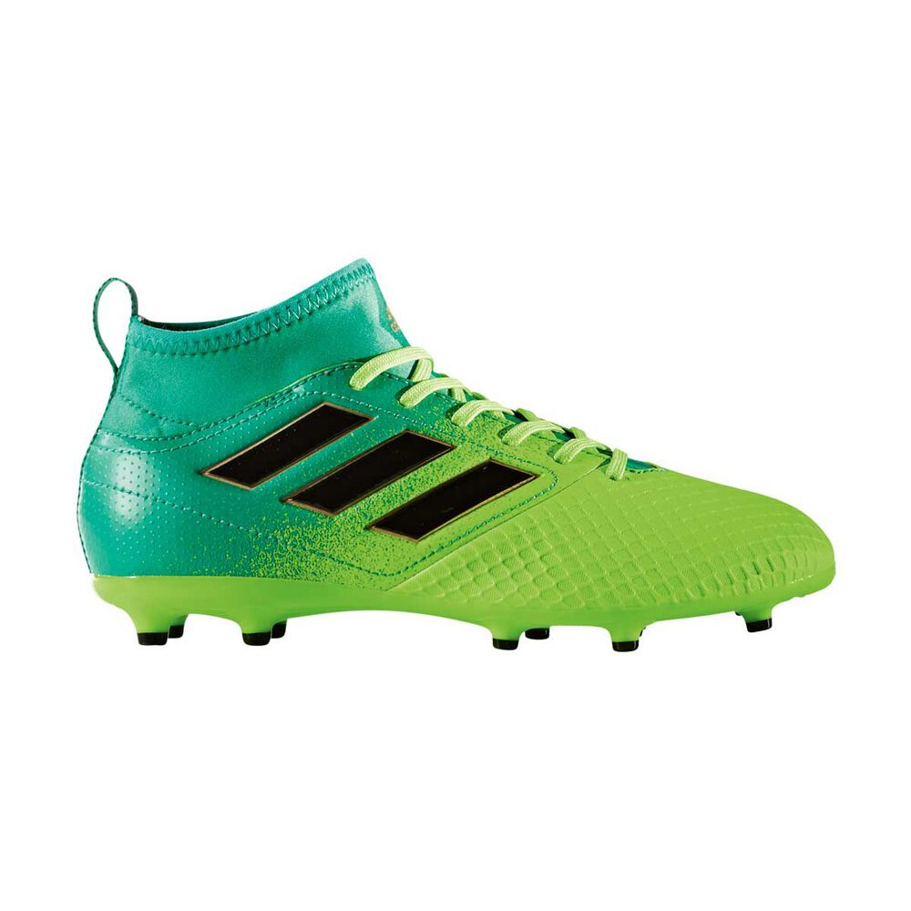 release date 98cab 35a22 adidas ACE 17.3 Junior Football Boots Green / Black US 12 Junior