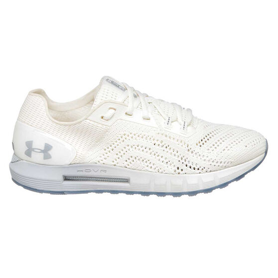Under Armour HOVR Sonic 2 Mens Running Shoes, White / Grey, rebel_hi-res