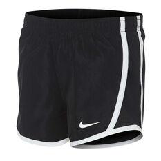 Nike Girls Tempo Shorts Black 4, Black, rebel_hi-res